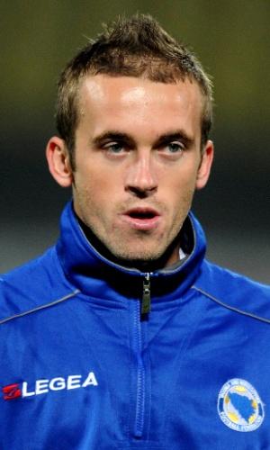 Edin Visca, jogador da Bósnia