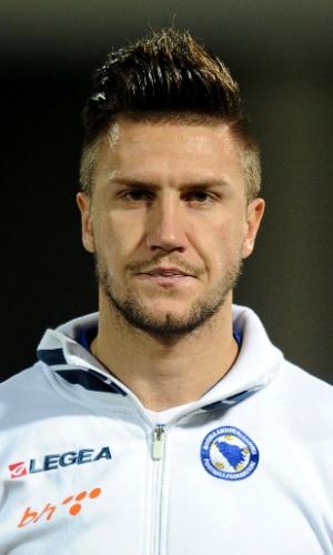 Ermin Bicakcic, jogador da Bósnia