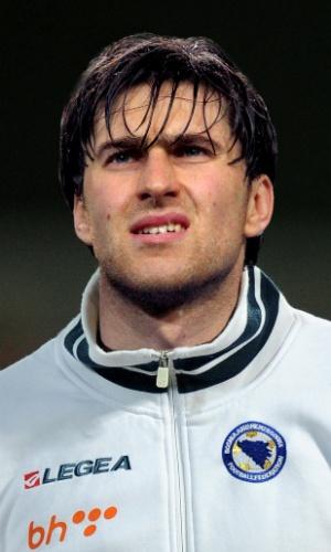 Ervin Zukanovic, jogador da Bósnia