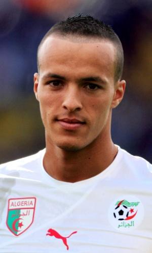 Foued Kadir, jogador da Argélia