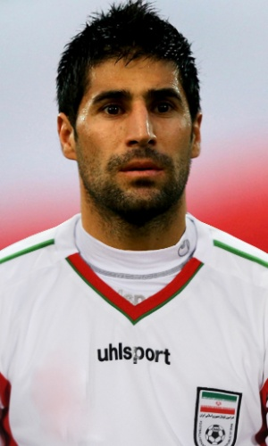 Hashem Beikzadeh, jogador do Irã