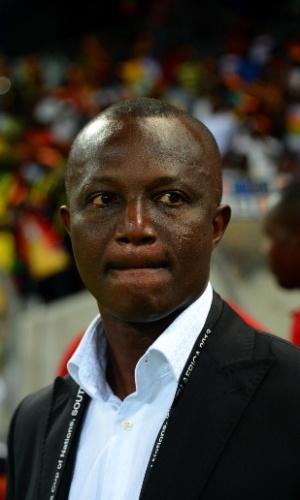 Kwesi Appiah, técnico de Gana