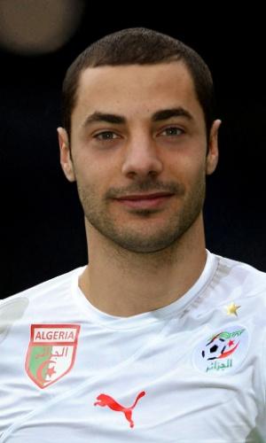 Mehdi Lacen, jogador da Argélia