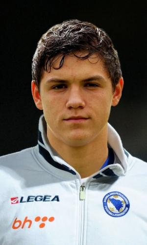 Muhamed Besic, jogador da Bósnia