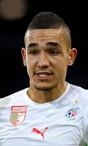 Nabil Bentaleb, jogador da Argélia