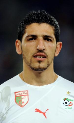 Rafik Halliche, jogador da Argélia