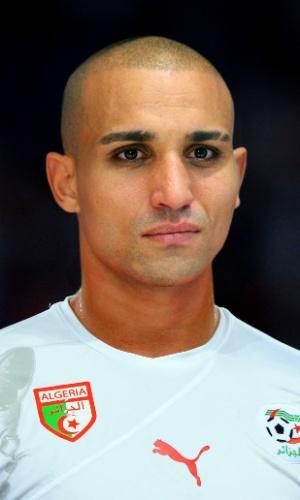 Rafik Zoheir Djebbour, jogador da Argélia