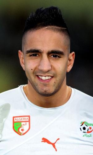 Ryad Boudebouz, jogador da Argélia