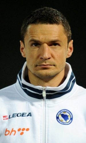 Sejad Salihovic, jogador da Bósnia