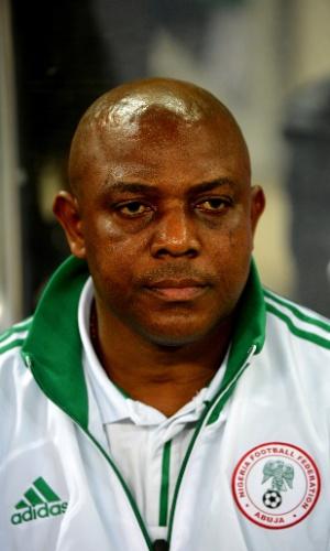 Stephen Keshi, técnico da Nigéria