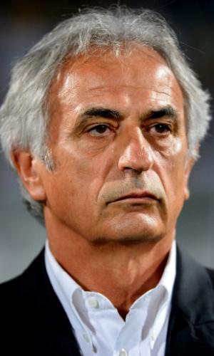 Vahid Halilhodzic, técnico da Argélia