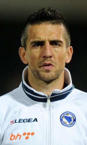 Vedad Ibisevic, jogador da Bósnia