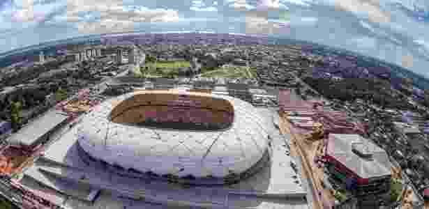 Arena Amazônia completa um ano em operação com prejuízo mínimo de R ... c426322b93746