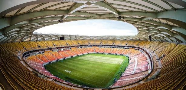 Arena da Amazônia receberá jogo Brasil x Colômbia pelas Eliminatórias da Copa 2018 - Divulgação/Portal da Copa