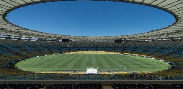 Com capacidade para mais de 78 mil pessoas, o Maracanã será palco da final da Copa do Mundo