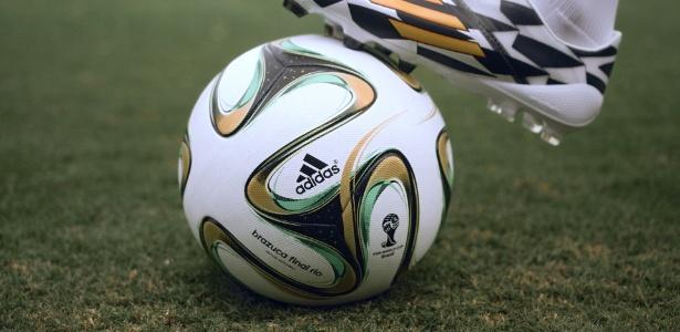 Bola da Copa para a final será especial, com cores diferentes da Brazuca tradicional