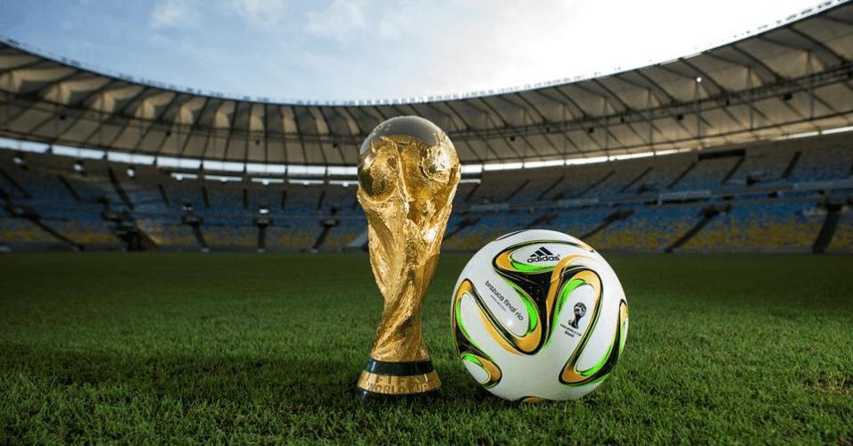 Brazuca especial para a final da Copa do Mundo terá detalhes em verde e amarelo