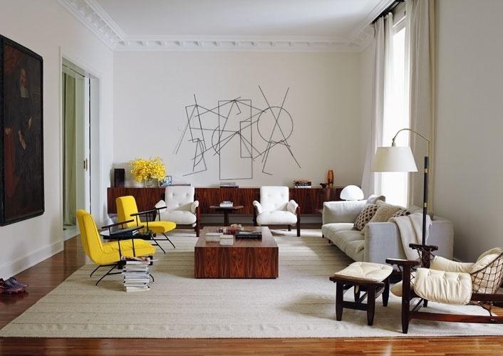 Interior da nova casa de Ronaldo