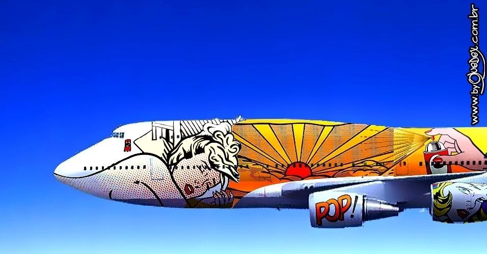 Já a Pop Art poderia ser representada pelo norte-americano Roy Lichtenstein e suas referências às histórias em quadrinhos