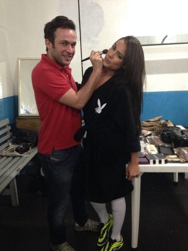 Making of de Patrícia Jordane para a revista Playboy