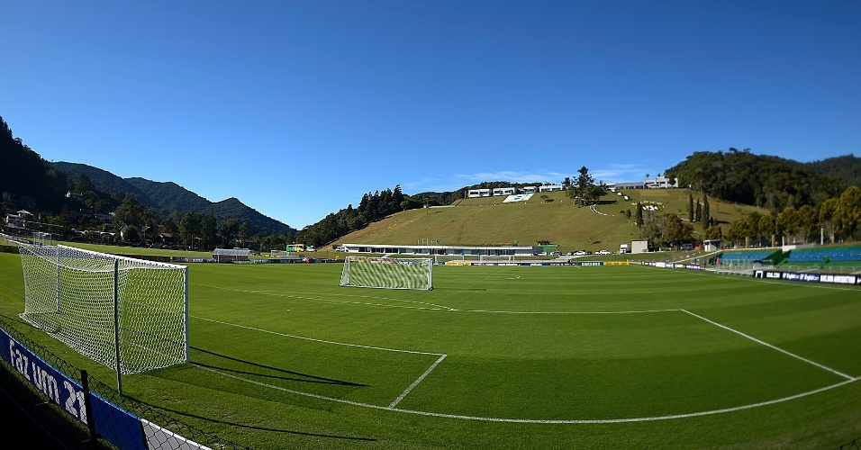 Campo da Granja Comary para treino nesta sábado (31/05/2014)