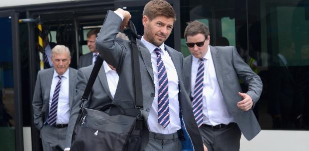 Capitão da Inglaterra, Steven Gerrard disse que time está crescendo desde a última Copa