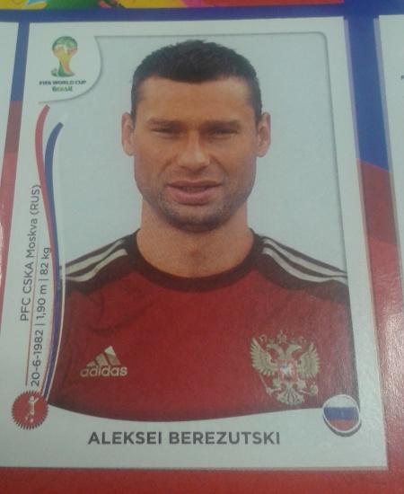 Aleksei Berezutski não vai à Copa, diferentemente de seu irmão gêmeo, Vasili