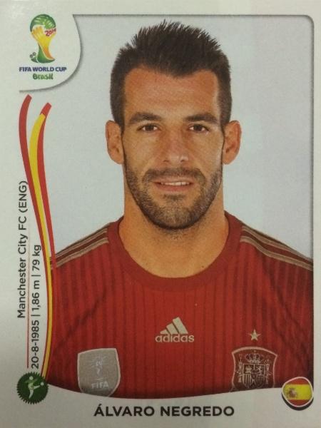 Alvaro Negredo perdeu a briga no ataque da Espanha para Diego Costa