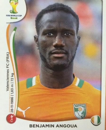Angoua foi cortado na última lista divulgada pela Costa do Marfim