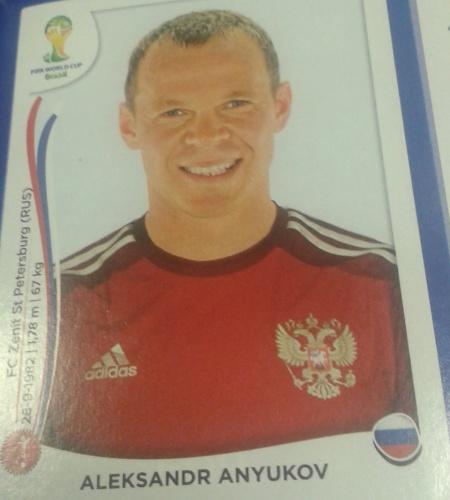 Anyukov foi cortado da lista final de 23 da Rússia pelo técnico Fabio Capello