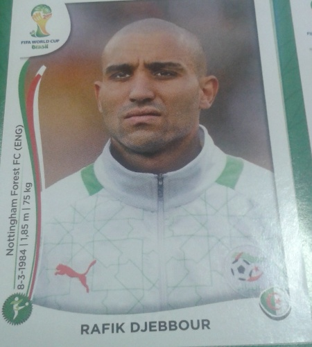 Djebbour foi um corte surpreendente da seleção argelina