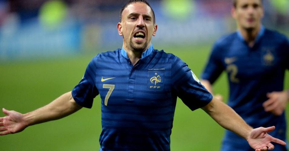 Franck Ribéry é um dos destaques da seleção francesa na Copa do Mundo