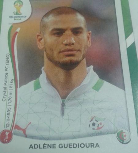 Guedioura jogou a Copa de 2010 pela Argélia, mas não jogará em 2014