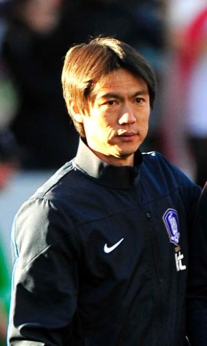 Hong Myungo-Bo, técnico da Coreia do Sul