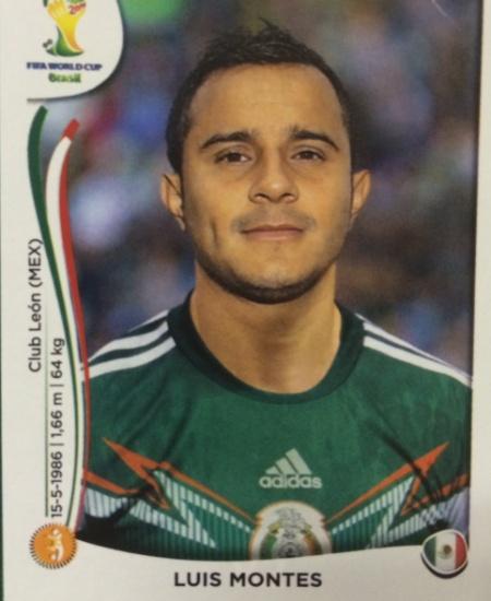 Luis Montes quebrou a perna em amistoso contra o Equador um minuto após marcar um golaço e acabou fora do Mundial