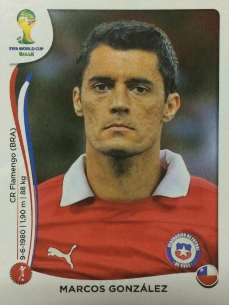 Marcos González não ficou para a lista final de 23 do Chile por opção de Jorge Sampaoli, o técnico