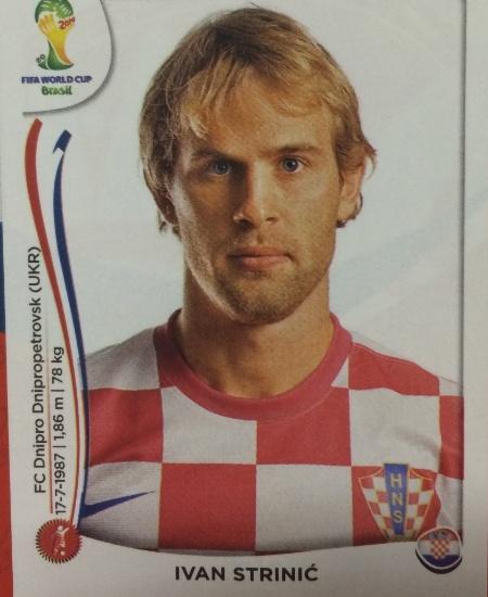 O lateral Strinic sentiu lesão muscular e não jogará a Copa pela Croácia
