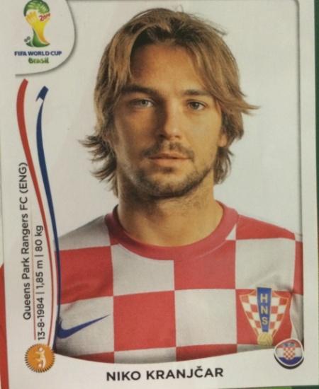 Por problema no tornozelo, Nico Kranjcar desfalcará a Croácia