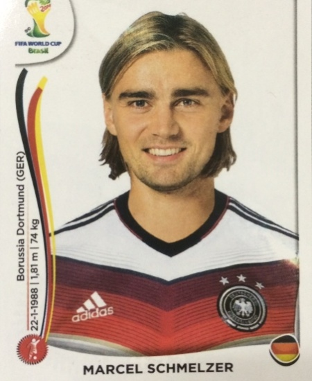 Schmelzer foi cortado da lista final alemã por não se recuperar de lesão no joelho esquerdo