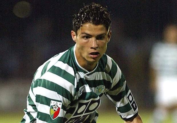 Cristiano Ronaldo, na época quando defendia o Sporting