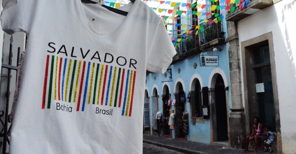 Salvador está acostumada a receber visitantes durante todo o ano