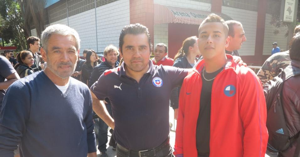 Chilenos acreditam na possibilidade de conferir as partidas nos estádios nesta Copa