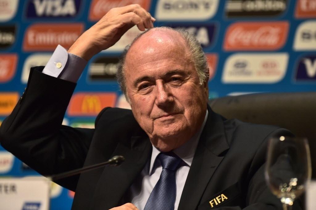 05.jun.2014 - Joseph Blatter mudou o discurso e agora se diz confiante na Copa no Brasil