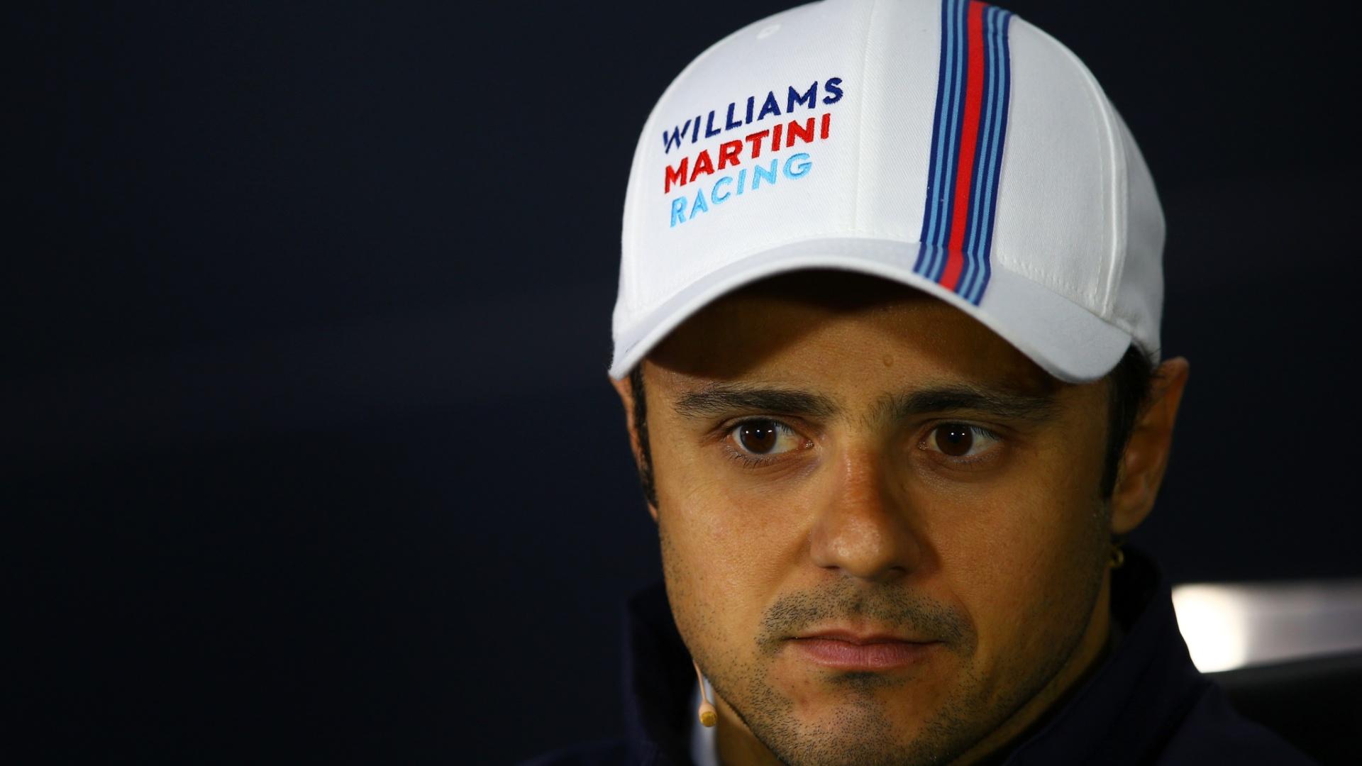 Felipe Massa, durante coletiva de imprensa, em Montreal