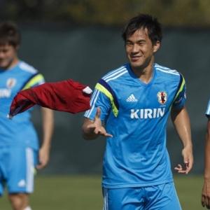 584c7bdf8 Japão divulga pré-lista para Copa com 27 atletas  Okazaki volta à seleção