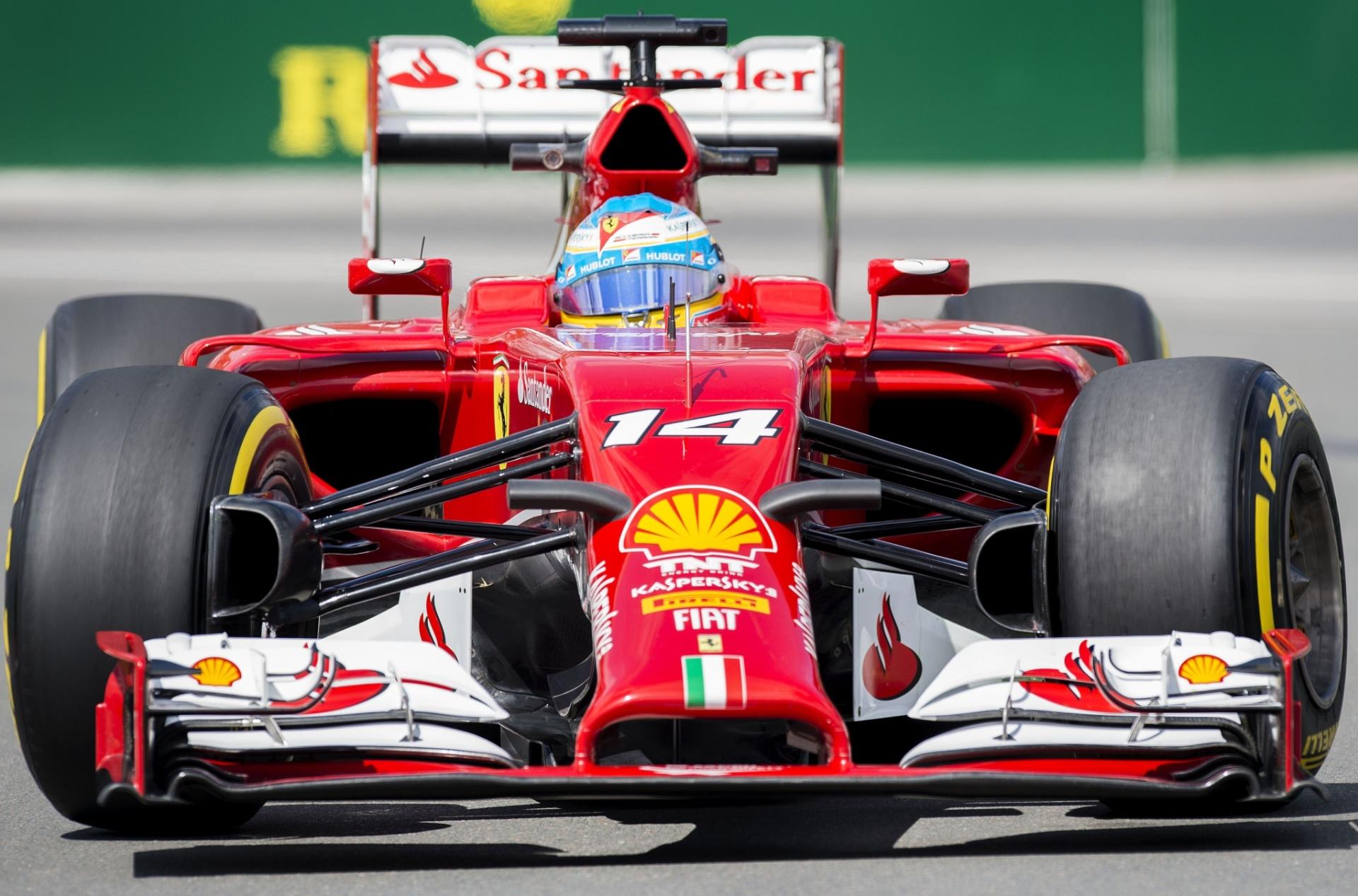 Alonso lidera primeiro treino livre e Massa tem problemas no Canadá -  06 06 2014 - UOL Esporte 13d49a5fc527a