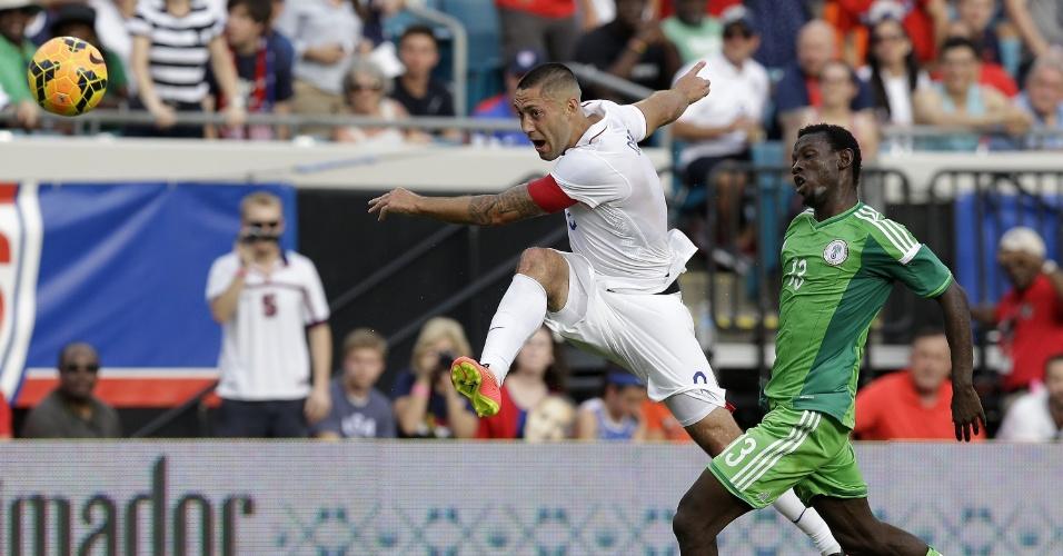 Clint Dempsey finaliza em amistoso dos EUA com a Nigéria