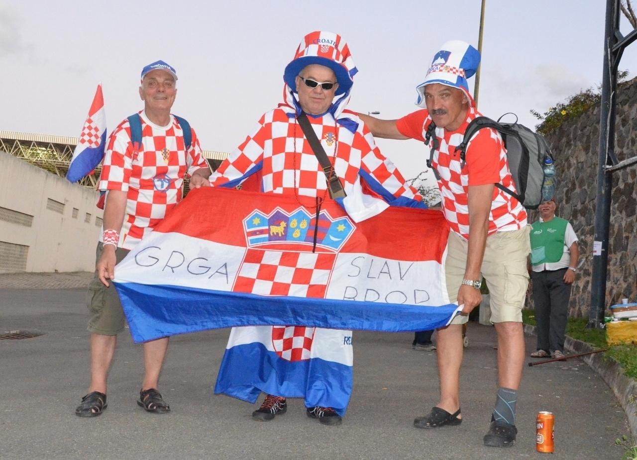 Torcedores croatas vão permanecer 45 dias no Brasil para a Copa