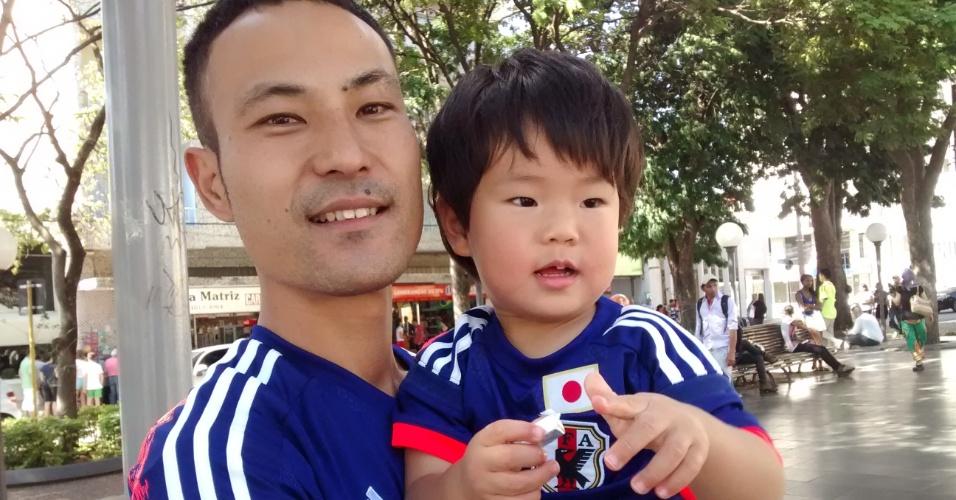 Fãs recebem a seleção japonesa em Sorocaba