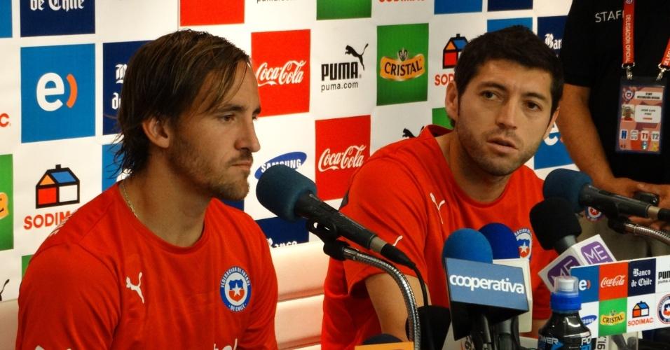 Fuenzalida e Rojas aprovam ideia do Chile de ficar longe de programas turísticos durante a Copa